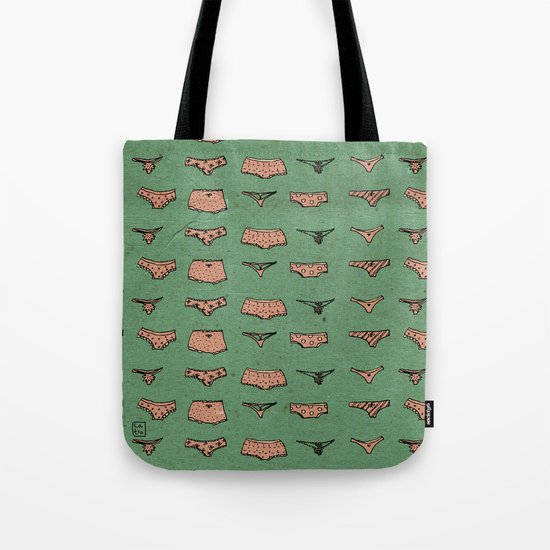 UNDERWEAR LOVE: It says a lot Tote Bag