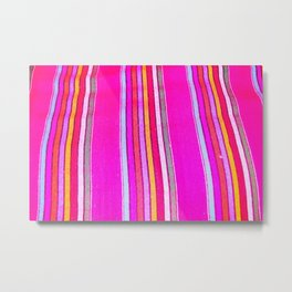 Mexican Fabric Metal Print