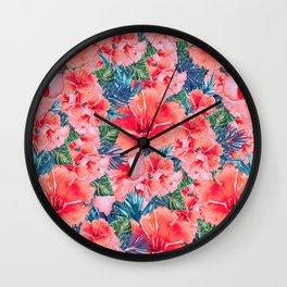 My Tropical Garden 12 Wall Clock