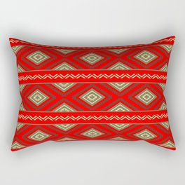 Tribal #6 * Ethno Ethnic Aztec Navajo Pattern Boho Chic Rectangular Pillow