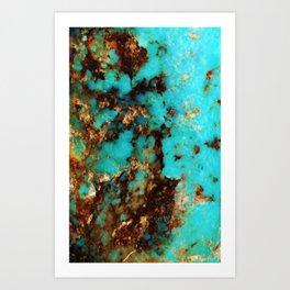 Turquoise I Art Print