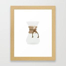 Slow Pour Framed Art Print