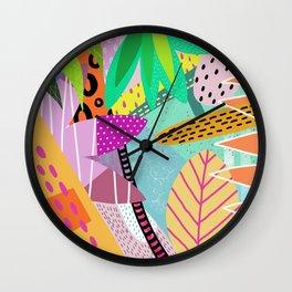 Tropical Indonesia Wall Clock