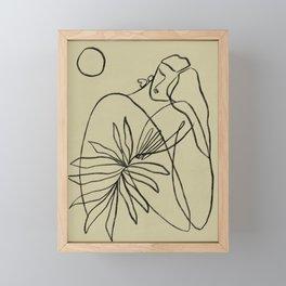 Summer lines V|| Framed Mini Art Print