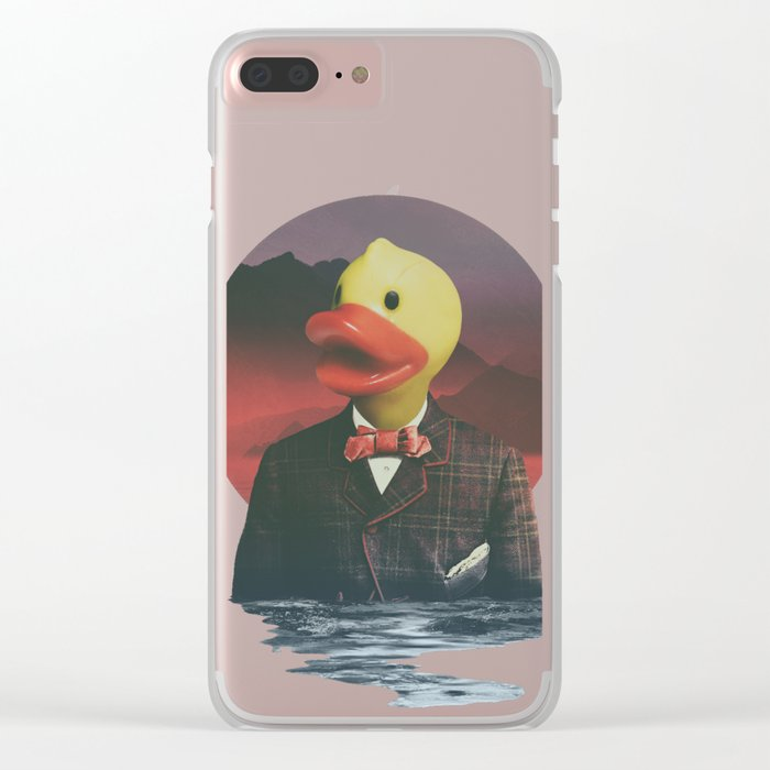 Rubber Ducky Clear iPhone Case