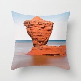 Teapot Rock Throw Pillow