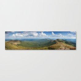 Bieszczady Panorama Canvas Print