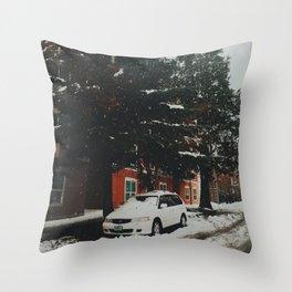 Winter Wonderland, Eugene, OR Throw Pillow