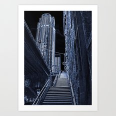 Night Steps Art Print