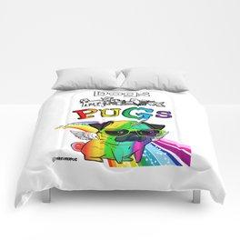 Pug Star Comforters