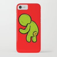 butt iPhone & iPod Cases featuring Butt-On by Artistic Dyslexia