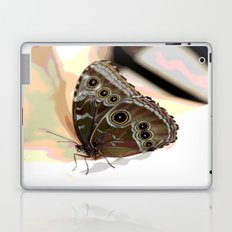 Bulls Eye Butterfly Laptop & iPad Skin
