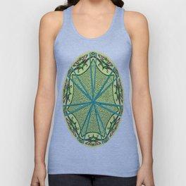 Mandala in florals Unisex Tank Top