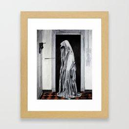 Cursed to live forever. Framed Art Print