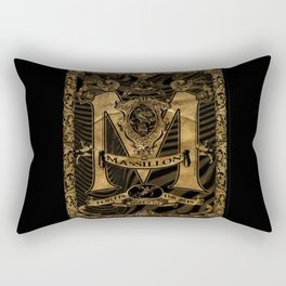 Mässillon Darkness Rectangular Pillow