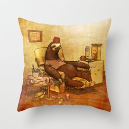 YOU ARE SLOTH! Throw Pillow