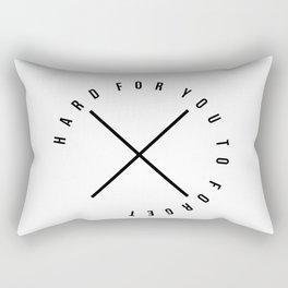 Hard for you Rectangular Pillow