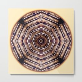 Knowledge Mandala for Inner Wisdom Metal Print