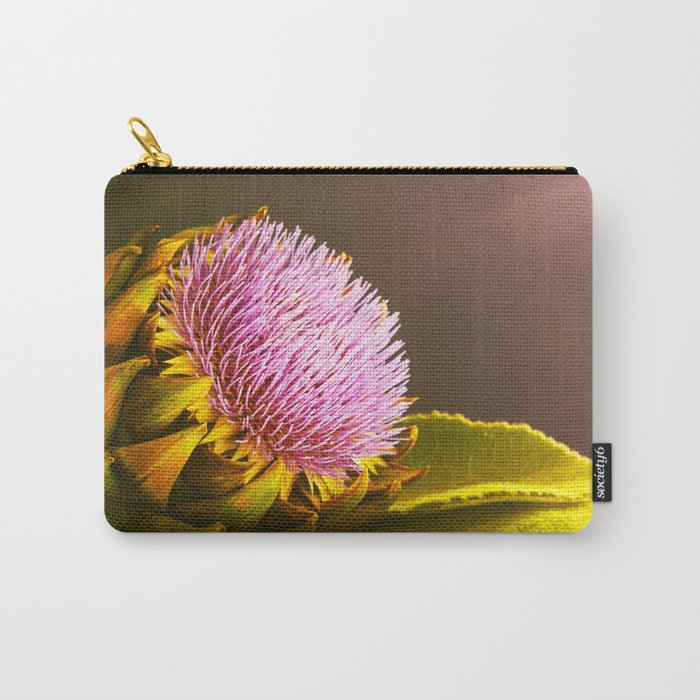 artichokes flower Carry-All Pouch