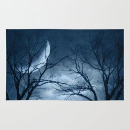 A Dark & Foggy Night Rug