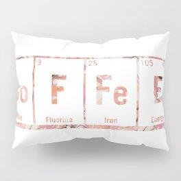 coffee periodic table Pillow Sham