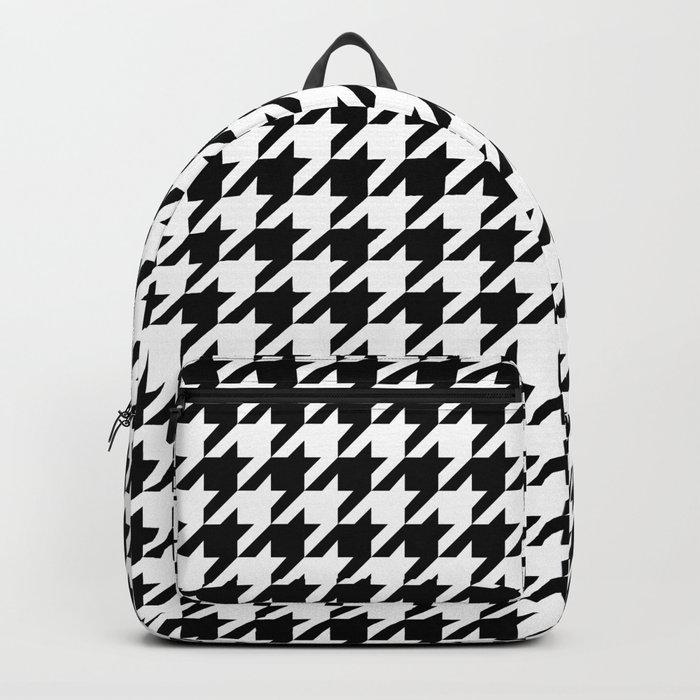 Houndstooth Backpack