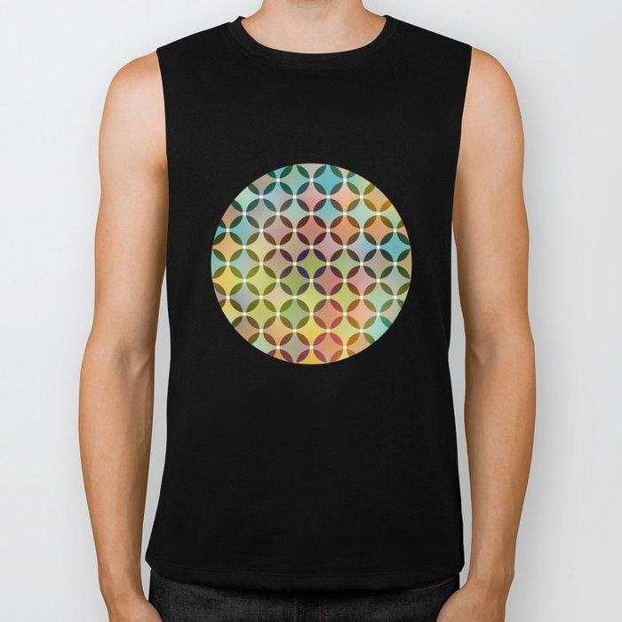 Dots in Dots Biker Tank