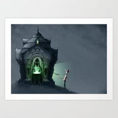 Eternal Famishment Art Print