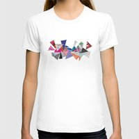 triangles T-shirts featuring Triangles by Lydia Coventry