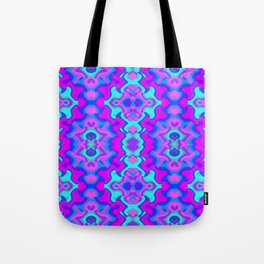 Psychedelic Wallpaper Tote Bag