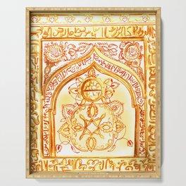 Mughal jharokha (window) Serving Tray