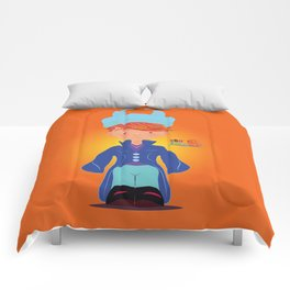 Le petit Mikel /Character & Art Toy design for fun Comforters
