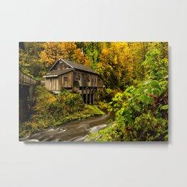Cedar Creek Grist Mill, Washington Metal Print