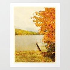 Crystal Lake, Maine Art Print