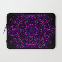 Dark Violet Mandala Laptop Sleeve