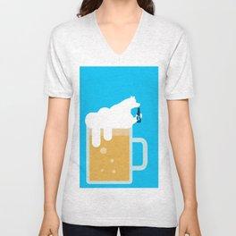 polar beer Unisex V-Neck