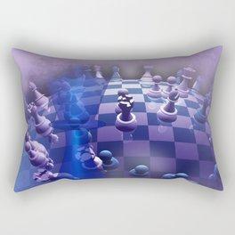 chess over the world Rectangular Pillow