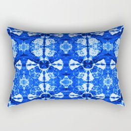 It's Bloomin' Blue Rectangular Pillow