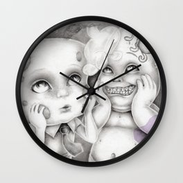 """""""The Things We Share As Friends"""" (Spongebob and Patrick) Wall Clock"""