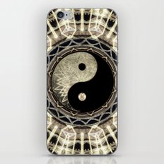 Yin Yang Geometry Mandala V1 iPhone Skin