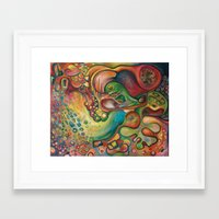 gumball Framed Art Prints featuring Gumball by Dena Nord