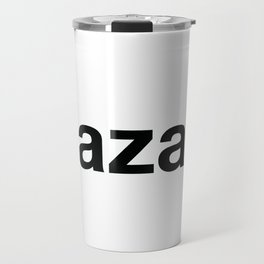 KAZAKH Travel Mug