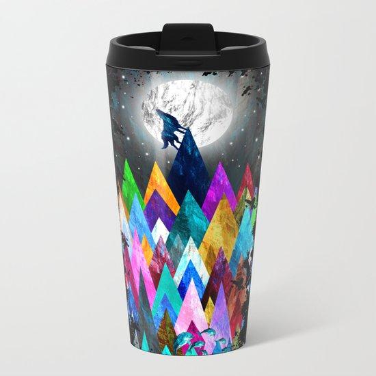 Wolf XIC Metal Travel Mug