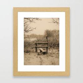 Need a Lift Framed Art Print
