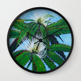 Lemon Haze Wall Clock