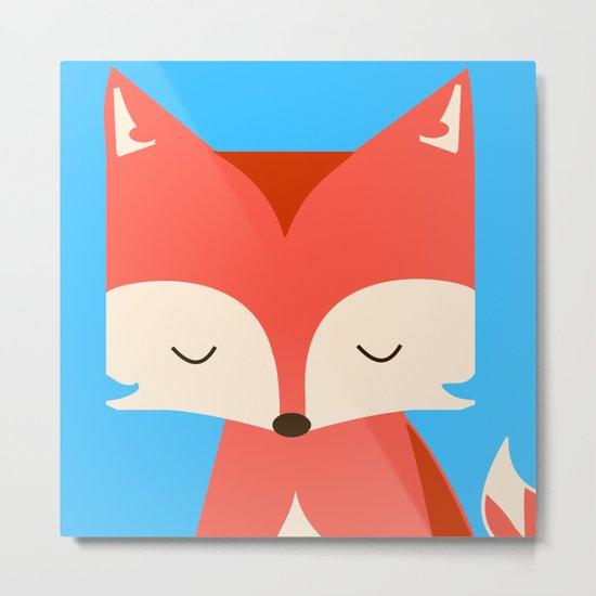 The Fox Metal Print
