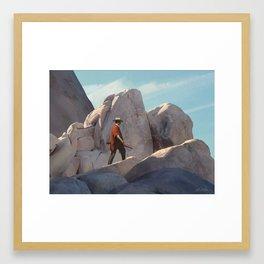 The Tracker Framed Art Print