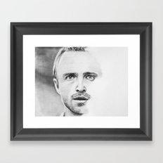 Aaron Paul Framed Art Print