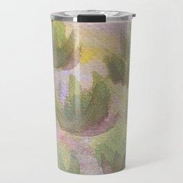 Green Lotus 2 Travel Mug