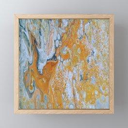Fireplace Framed Mini Art Print